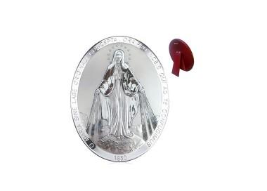 Quadro Ovale Madonna Miracolosa