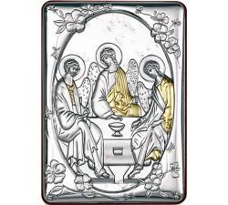 Piccolo quadro ricordo bomboniera Cresima Santissima Trinità