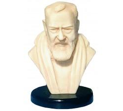 Statua Busto Padre Pio da Pietralcina in Ceramica