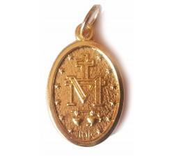 medaglia madonna miracolosa color oro