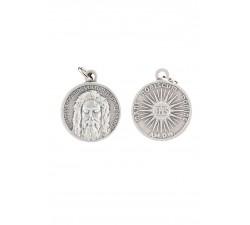 Medaglia del Volto Santo in argento 925‰