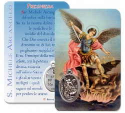 CARD PLASTIFICATA SAN MICHELE ARCANGELO