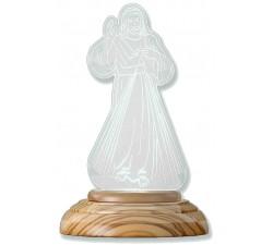 Lampada Notturna Gesù Misericordioso con luce led