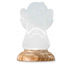 Lampada Notturna Angioletto in Preghiera con luce led