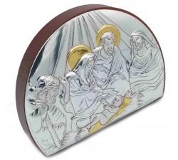 quadro natalizio sacra famiglia presepe