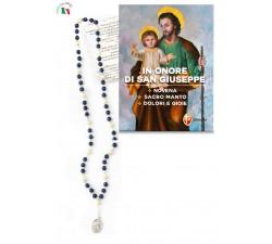 Rosario Devozionale con libro novena a San Giuseppe
