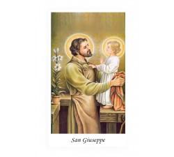 SANTINO SAN GIUSEPPE CON INVOCAZIONE