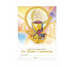 DIPLOMA RICORDO PRIMA COMUNIONE