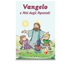 vangelo e atti degli apostoli illustrato per bambini