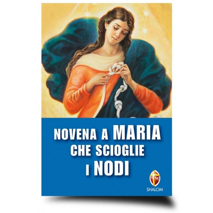 """LIBRO """"NOVENA A MARIA CHE SCIOGLIE I NODI"""""""