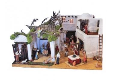PRESEPE COMPLETO IN STILE ARABO