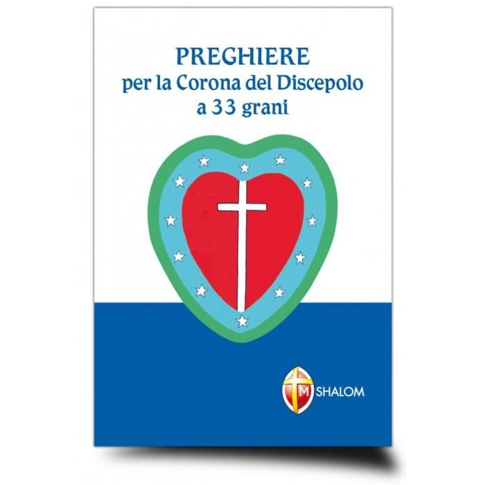 LIBRO PREGHIERE CORONA DEL DISCEPOLO 33 GRANI