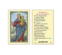 SANTINO PLASTIFICATO MARIA AUSILIATRICE (CONF. 25 Pz)