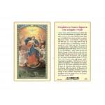 SANTINO PLASTIFICATO MARIA CHE SCIOGLIE I NODI (CONF. 25 Pz)