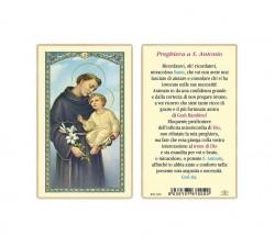 SANTINO PLASTIFICATO SANT' ANTONIO (CONF. 25 Pz)