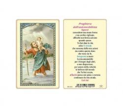 SANTINO PLASTIFICATO SAN CRISTOFORO (CONF. 25 Pz)