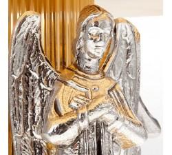 TRONETTO ANGELI IN PREGHIERA OTTONE PER ESPOSIZIONE EUCARISTICA