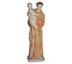 Statue e Statuine STATUA SANT' ANTONIO CON GESÙ BAMBINO IN CERAMICA PER ESTERNO