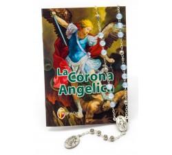 Corona angelica San Michele arcangelo con rosario