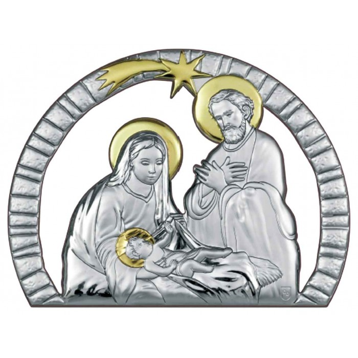 QUADRO NATIVITÀ DECORATO