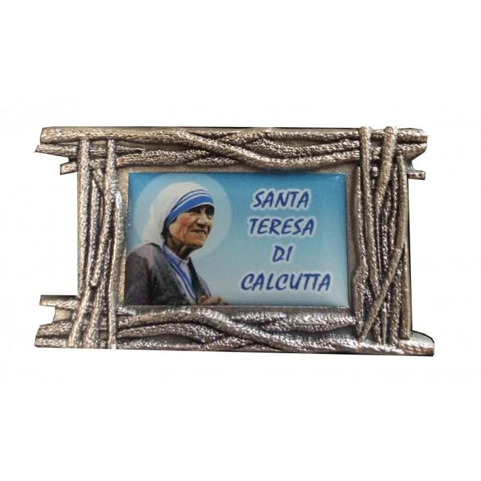 PLACCA CALAMITATA SANTA MADRE TERESA DI CALCUTTA