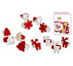 decori natalizi portatovaglioli segnaposti