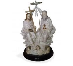 statua santissima trinità, padre figlio e spirito santo