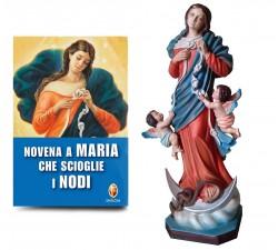 STATUA MARIA CHE SCIOGLIE I NODI + LIBRO NOVENA