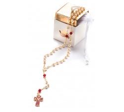 Rosario Santa Cresima con scatola regalo