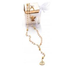 Rosario Battesimo o Nascita con scatola regalo