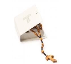 Rosario Tau prima comunione con scatola regalo