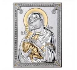 Madonna con Bambino ICONA ARGENTO MADONNA CON BAMBINO