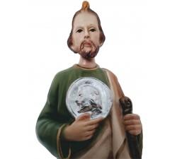 statua san Giuda Taddeo in vetroresina dipinta a mano