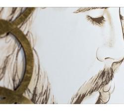 """Sacra Famiglia grande quadro moderno capoletto collezione  """"I Dettagli"""""""