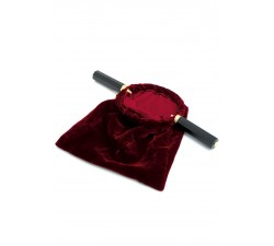 Borsa portaelemosina in velluto rosso