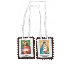 Scapolare Madonna del Carmelo, scapolare carmelitano