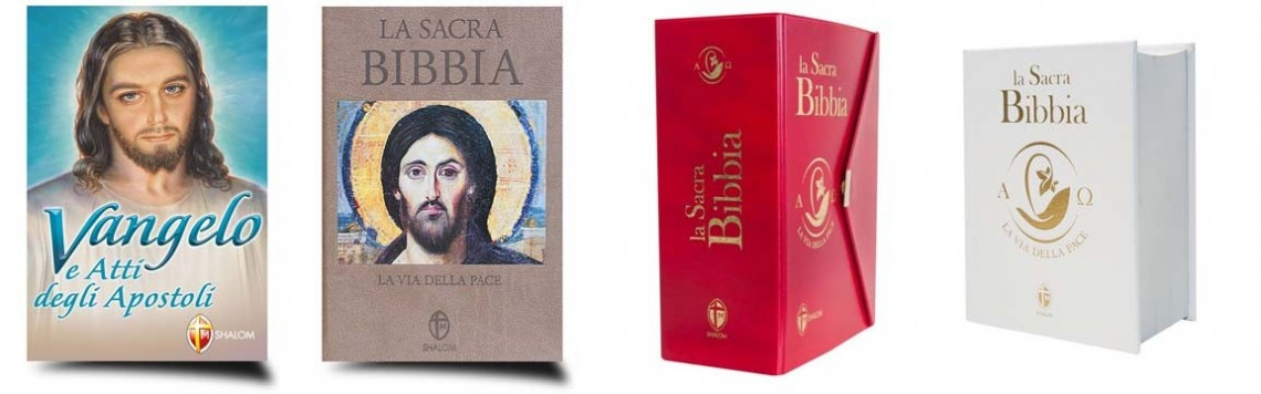Bibbia Vangeli e Libri Sacri | Edizioni Pregiate Commentate