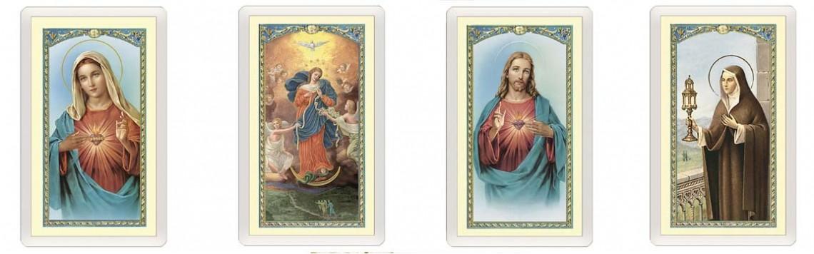 Santini, Card Plastificate, Immagini, Immaginette sacre|Artesacrashop