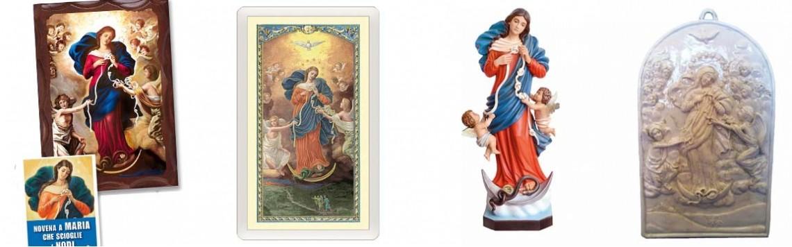 Maria che Scioglie i Nodi, Libri, Statue, Rosari|Artesacrashop