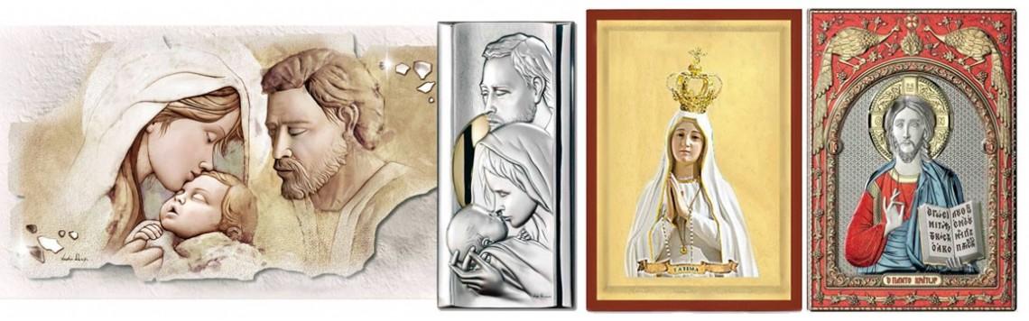 Quadri con Immagini Sacre, Religiosi e Icone Religiose