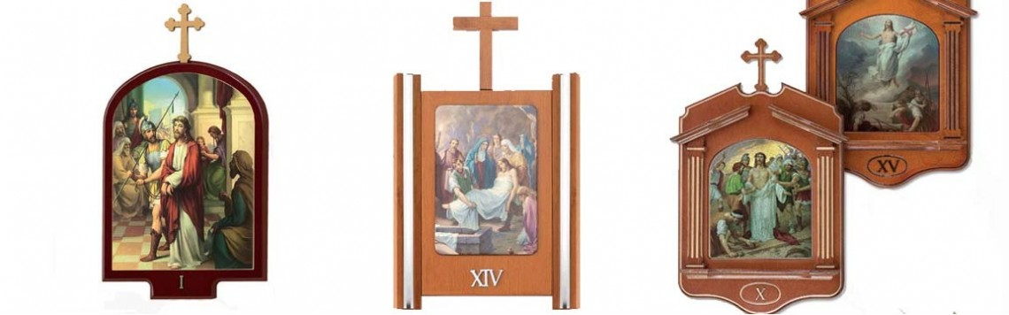 Vendita Stazioni Via Crucis per Chiese
