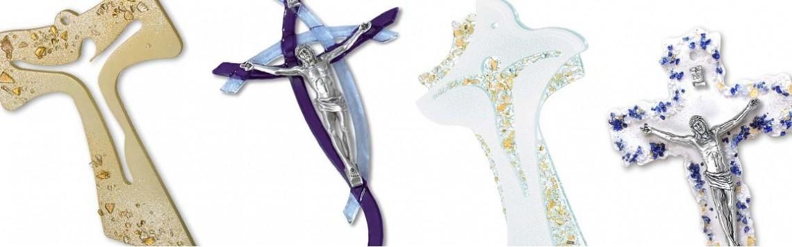 Crocifissi in Vetro di Murano e Cristallo Soffiato | Artesacrashop
